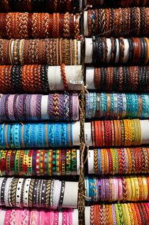 Multi-coloured wristband for sale von Sami Sarkis Photography