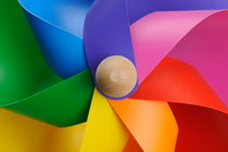 Colorful toy windmill by Sami Sarkis Photography