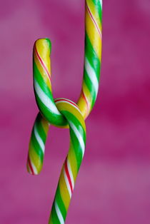 Candy canes by Sami Sarkis Photography
