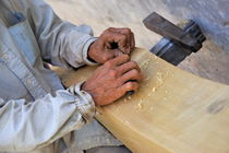 Carpenter's hands by Sami Sarkis Photography