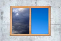 Cloudy and clear sky views framed by Sami Sarkis Photography