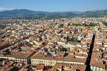 Cityscape from top of cupola of Florence Duomo by Sami Sarkis Photography