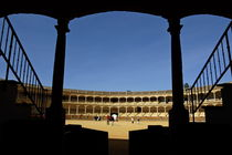 Inside the Plaza de Toros de Ronda by Sami Sarkis Photography