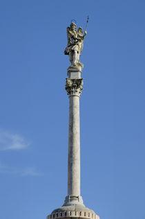 Statue of San Rafael the patron saint of Cordoba by Sami Sarkis Photography