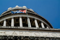 Cupola on the El Capitolio (National Capitol) building in Havana von Sami Sarkis Photography
