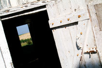 France lion en beauce open wooden door on a countryside view by Sami Sarkis Photography