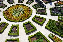 Public gardens in La Garde-Adhemar by Sami Sarkis Photography