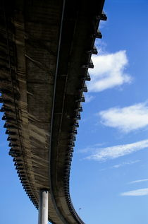 The A55 viaduct seen from underneath by Sami Sarkis Photography