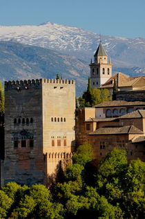 View of the Alhambra Palace from the Plaza of St. Nicholas von Sami Sarkis Photography