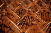 Traditional umbrellas with intricate designs by Sami Sarkis Photography