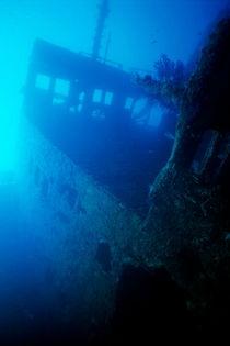 Inside the Chaouen shipwreck von Sami Sarkis Photography