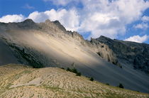 Sunlight over Izoard Pass among the French Alps by Sami Sarkis Photography