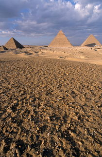 View of The Khephren Pyramid von Sami Sarkis Photography