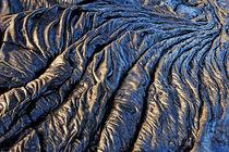 Cooled pahoehoe lava flow von Sami Sarkis Photography