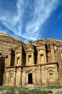 Facade of Ad Deir by Sami Sarkis Photography