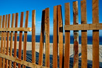 Broken fence by the seaside by Sami Sarkis Photography