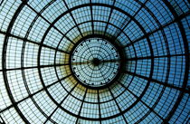 Glass dome of the shopping arcade Galleria Vittorio Emanuele II by Sami Sarkis Photography