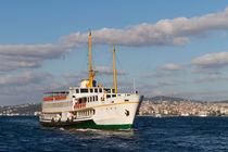 A ferry from Bosphorus, Istanbul by Evren Kalinbacak