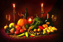 The Harvest Supper von Graeme Pettit