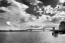 Mississippi River New Orleans. von Pedro Dominguez