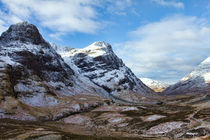 Winter Mountains Of Glencoe von Derek Beattie