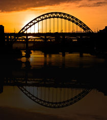 Reflections of Tyne von John Ellis