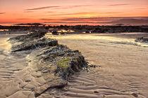 North Beach Sunset Ardrossan by Paul messenger