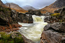 Glen Etive Waterfall von Paul messenger