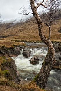 Glen Etive Scotland by Paul messenger