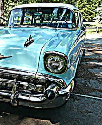 Classic car by Robert Gipson