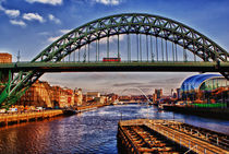 Tyne Bridges von John Ellis