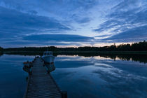 Summer's night in the Archipelago of Stockholm, Sweden von kbhsphoto