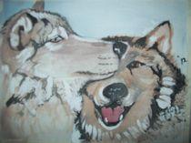 Wolf Love von cindy-cindyloo