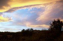 Himmel über der Costa Blanca 2 von Heinrich Reisige