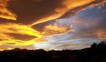 Himmel über der Costa Blanca 1 by Heinrich Reisige