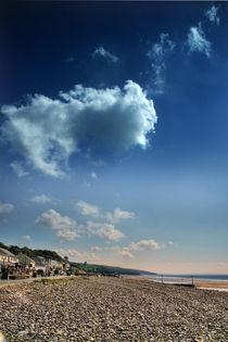 Shingle and Sky von Graeme Pettit