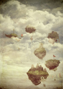 Floating Islands von Sybille Sterk