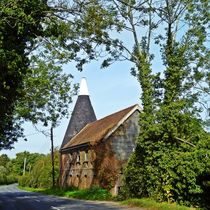 Oast house by sharon lisa clarke