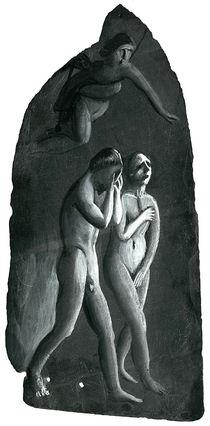 Die Vertreibung aus dem Paradies (nach Masaccio) von Istvan  Seidel