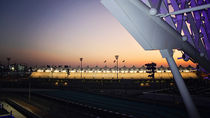 F1 race track from the hotel room  by sylviphotography