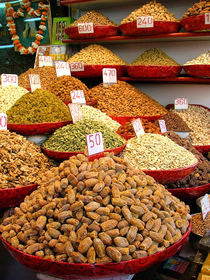 Dried Nuts and Spices For Sale von serenityphotography