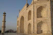 Taj Mahal inPerspective by serenityphotography