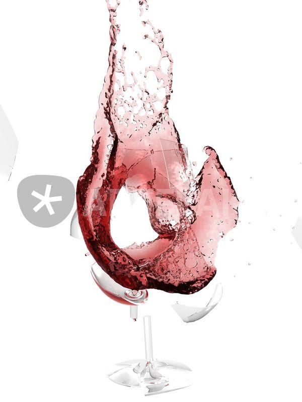 Philip Hone Williams :: Digital Painting :: Artwork and ...   Broken Wine Glass Painting