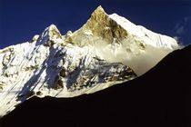 Nepal - Annapurna Himal, der heilige Machapuchare 6993 m von Karel Plechac