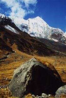 Nepal - Annapurna Himal, Stein und Gipfel von Karel Plechac