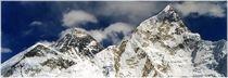 Nepal - Khumbu Himal, Blick vom Kala Patar 5545 m auf Everest und Nuptce by Karel Plechac