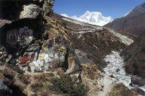 Nepal - Khumbu Himal, Buddha Heiligtum, Guru Rinboche von Karel Plechac