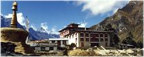 Nepal - Khumbu Himal, Das Sherpakloster in Tengboche by Karel Plechac