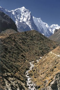 Nepal-khumbu-himal-flusslauf-thame-khola-und-teng-kangpoche