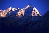 Nepal - Khumbu Himal, Kangtega 6779m und Thamserku 6608m by Karel Plechac